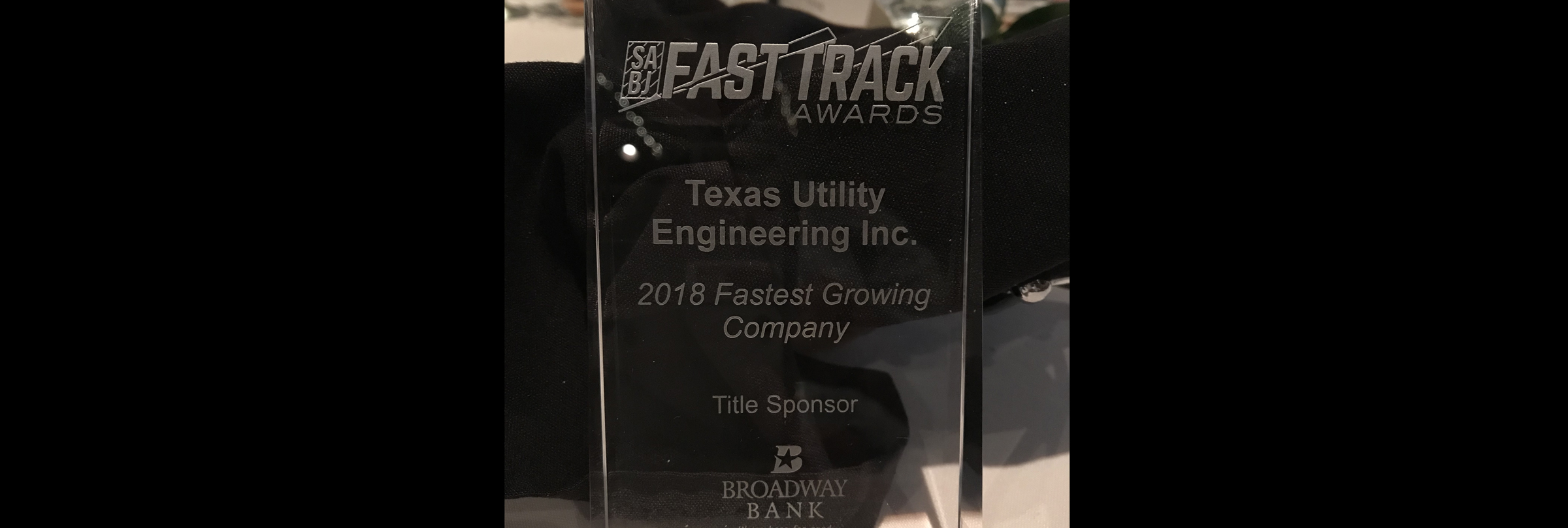 TXUE Listed as a Fast Track Co. for 8th Time